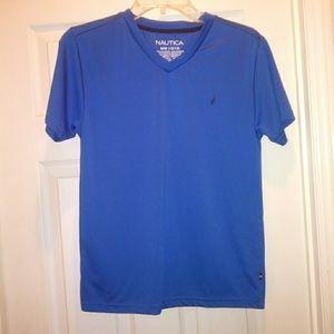 Nautica Girls Athletic Tee Shirt Size 10/12
